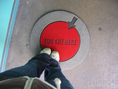 You Are Here Doormat