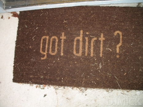 Got Dirt Doormat