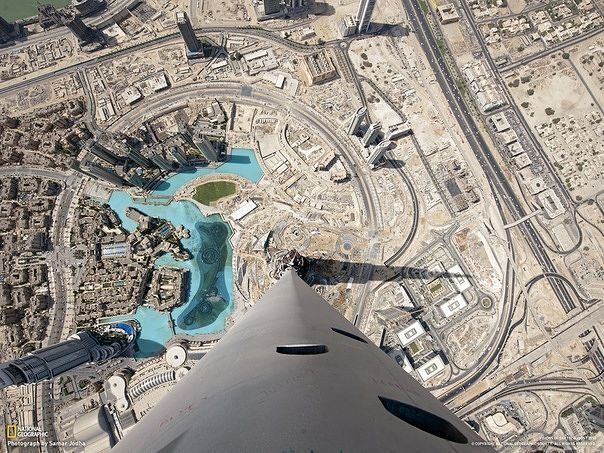 BurjKhalifa Looking Down