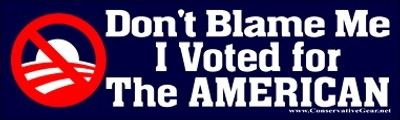 Nobama Voted American