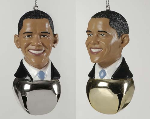 Obama Christmas Tree Ornaments