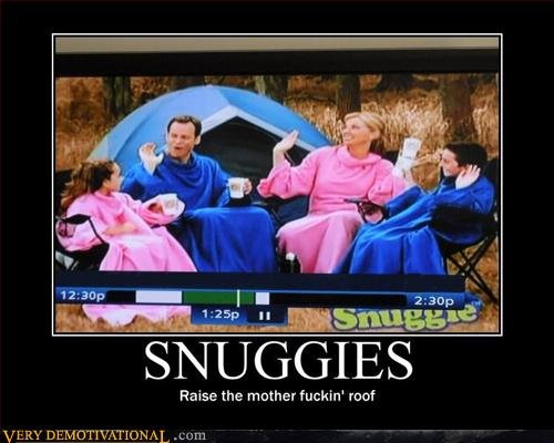 Snuggies Motivational Poster