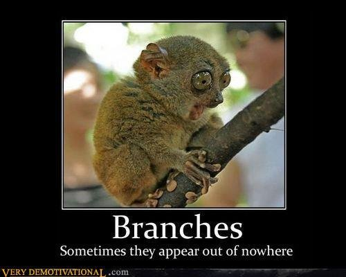 Branches Motivational Poster