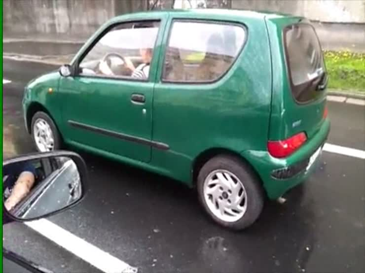 How can you drive a car like this and not realize something is drastically wrong?!